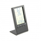 "3 ""LCD Multi-Funktions-Digital-Thermometer / Hygrometer / Uhr / Mondphasen - (1 x AG10)"