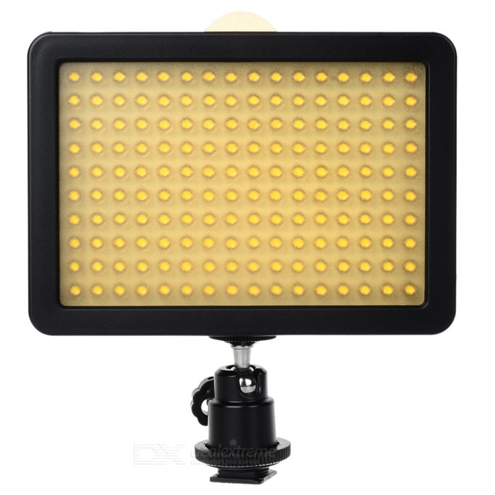 Buy Wansen W160LED 10.5W Camera Video Light for Canon, Nikon, Sony - Black with Litecoins with Free Shipping on Gipsybee.com