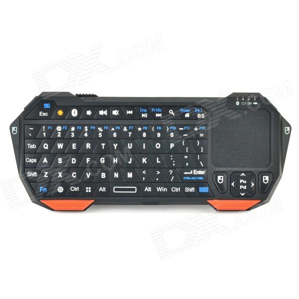 Seenda IS11-BT05 Mini clavier Bluetooth Bluetooth V3.0 avec clavier tactile - orange + noir