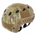 SW2150 Tactical Filed War Games Helmet w/ Protective Glasses - Camouflage
