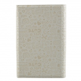 """Faerie Pattern Protective PU Leather Case Cover Stand for 7"""" Tablet PC - White"""