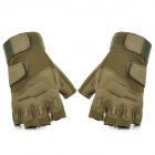 SW3012-Outdoor-Tactical-Half-Finger-Gloves-Army-Green-(Size-L-Pair)
