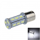1156 / BA15S / P21W 2W 200lm 18 x SMD 5630 LED White Car Signal Light / Steering Lamp - (12V)