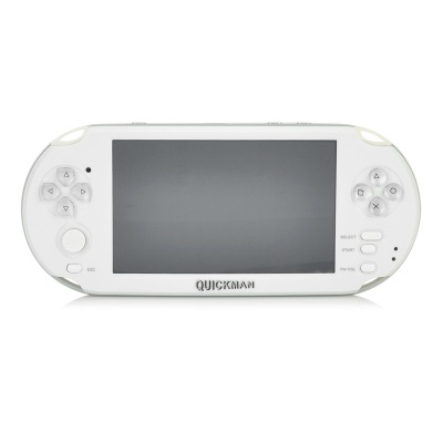 "5"" Capacitive Touch Screen Android 4.0.4 Game Console w/ Wi-Fi, 4GB, HDMI, 5.0MP Dual Camera - White"