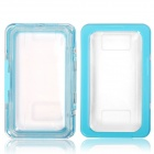 Protective Waterproof Case for Samsung Galaxy Note 3 N9000 / Note2 N7100 - Light Blue + Transparent