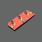 Jtron Robot Accessories 3-Way Tracking Sensor Robot / Hunt Module - Red