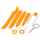 8-in-1 DIY Dismantle Tools Set for Car Video/Audio Navi System -Orange