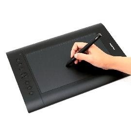 Huion H610 Pro Graphics Tablet Digitizer - Black