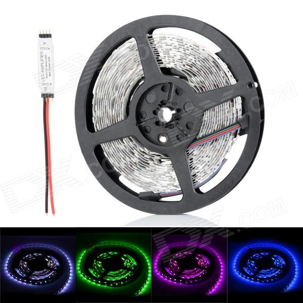 JRLED 72W 5400lm 300*SMD 5050 LED RGB Light Strip w/ Amplifier (5m)