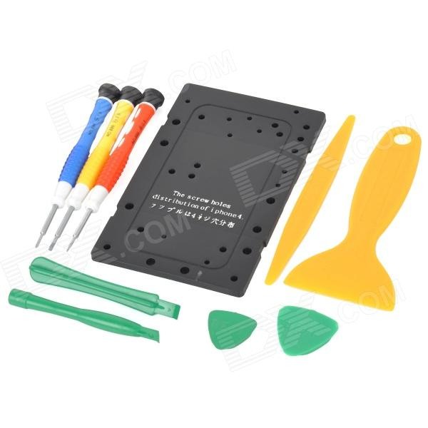 Buy BEST BST-603 Repair Maintenance Disassemble Tools for Iphone (10 PCS) with Litecoins with Free Shipping on Gipsybee.com