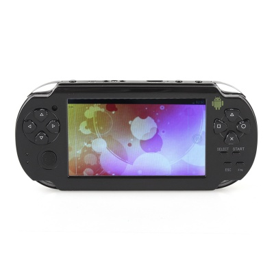 "ESER C4302 4.3"" Android 4.0 Game Console w/ Wi-Fi / HDMI / Dual-Camera - Black"