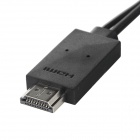 Mobile Phone to HDTV Medialink Micro USB 3.0 to HDMI MHL Cable for Samsung Galaxy Note 3 - Black
