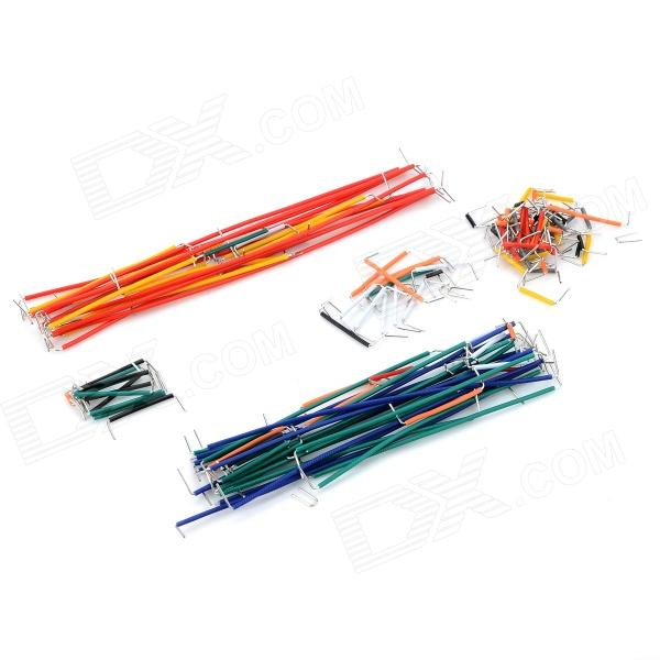PVC Jumper Wire for Bread Board - Multicolored (140PCS)Kits<br>BrandN/AModelN/AQuantity140 pieceForm  ColorOthers,MulticoloredMaterialPVCEnglish Manual / SpecNoPacking List140 x Jumper wires1 x Packing box<br>