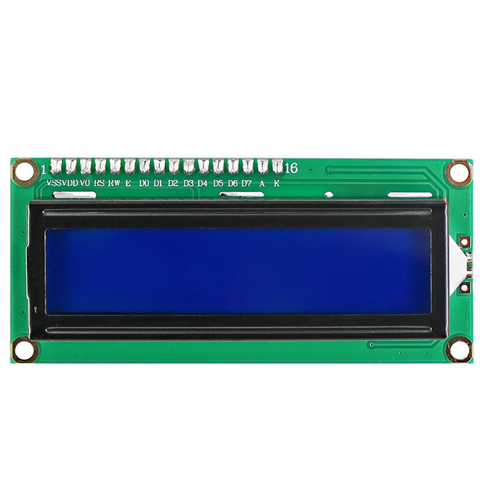 Buy DOFLY CG06NG025 1602 Character LCD Screen - Green with Litecoins with Free Shipping on Gipsybee.com