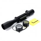 3-9*40 3~9X Magnification Fishbone Gun Aim Sight for MCR400, MSG90, PSG-1 - Black (3 x CR2032)