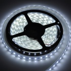 ZX-YIP67 72W 5000lm 6500K 300-SMD 5050 LED White Light Flexible Strip Lamp w/ Sleeve (12V / 5m)