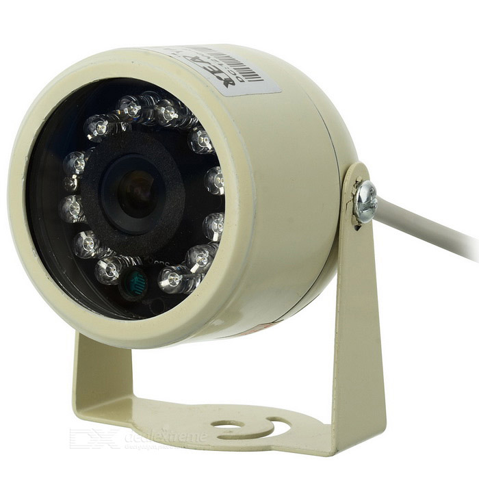 Indoor/Outdoor Full Color Security Camera with Audio/Microphone (NTSC)
