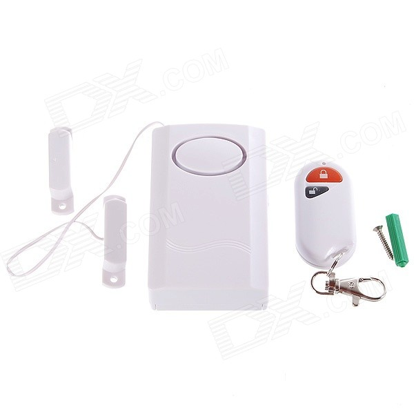 Window and Door Magnetic Sensor Anti-Theft Security Alarm (120dB/1*6F22)