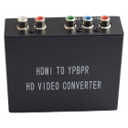 HDMI to YPbPr + R/L Audio Converter - Black (AC 100~240V)