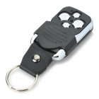 RR2 4-Key Mutual-Duplicating Remote Controller - Black + Silver (1 x 27A)