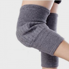 Soft and Elasticity Cashmere Wool Knee Warmer Support Warmer - (Pair)