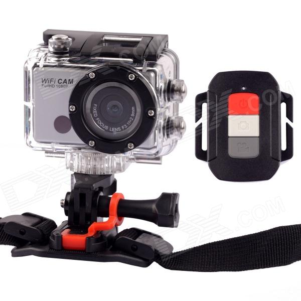 WDV5000 FHD 1080P 5.0MP CMOS Wi-Fi DV Sports Camera - Black + Silver for sale for the best price on Gipsybee.com.