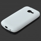 PUDINI Protective TPU Soft Case for Samsung Galaxy Star Pro S7262 - White