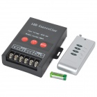 Aluminum Alloy 30A LED RGB Controller w/ Remote Control - Black + Antique Silver (DC 5~24V)