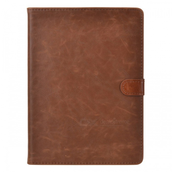Protective-Cowhide-Case-w-Auto-Sleep-for-Ipad-AIR-Deep-Brown