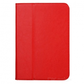 """Stylish Protective PU Leather Case for 7.85"""" Tablet PC - Red"""