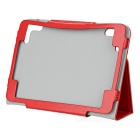 "Stylish Protective PU Leather Case for 7.85"" Tablet PC - Red"