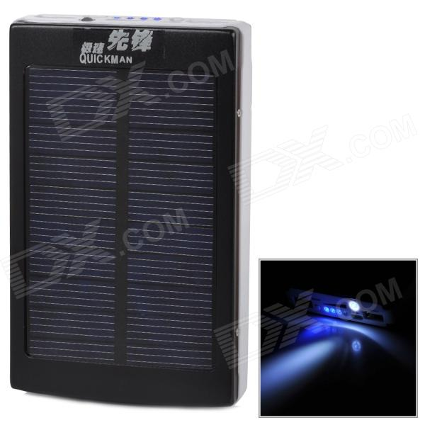 quot30000mAhquot Dual USB Solar Power Bank w/ LED Indicator