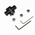 ACCU Adjustable Universal Red Laser Gun Aiming Bore Sight - Black (3 x AG10)