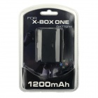 1200mAh Rechargeable Battery for Xbox One Wireless Controller - Black