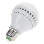 SHANGHAN E27 7W 240lm 3200K 24 x SMD 2835 LED Warm White Light Bulb - White (AC 220~240V)