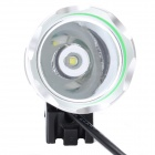 ZHISHUNJIA 360 Degree Rotation 900lm 4-Mode White Bicycle Headlight - Grey + Silver