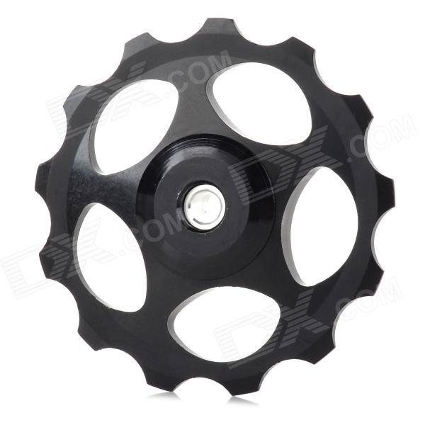Buy BH-01 Aluminum Alloy Bike Rear Derailleur Guide Pulley Wheel - Black with Litecoins with Free Shipping on Gipsybee.com