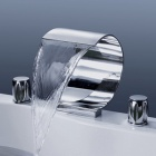 YDL-F-8007-1-Bathroom-Luxury-Waterfall-Hot-Cold-Faucet-Silver