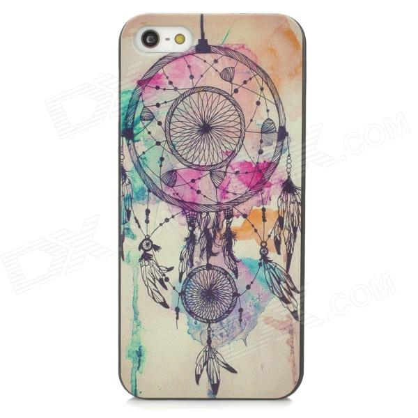 Dream Catcher Style PC Back Case for IPHONE SE/5/5S - Black + BeigePlastic Cases<br>Form  ColorBlack + Off-WhiteQuantity1 DX.PCM.Model.AttributeModel.UnitMaterialPCCompatible ModelsIPHONE 5S,IPHONE 5,Others,iPhone SEDesignMixed Color,GraffitiStyleBack CasesOther FeaturesProtects your device from scratches, dust and shockPacking List1 x Protective case<br>