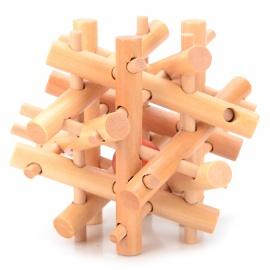 Educational Wooden Intelligence Toy Lock Puzzle Set