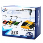 CF-916 Mini 3.5-Channel R/C Helicopter w/ Gyroscope - Yellow