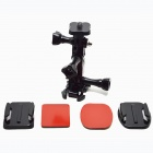 BZ100 hjälm Side Mount Accessory+ stativ montera Adapter för 1/4 '' Gopro hero 1 / 2 / 3 / 3 + / SJ4000
