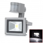 10W-720lm-6500K-LED-White-Light-Human-Body-Infrared-Induction-Floodlight-Grey-(AC-1007e240V)