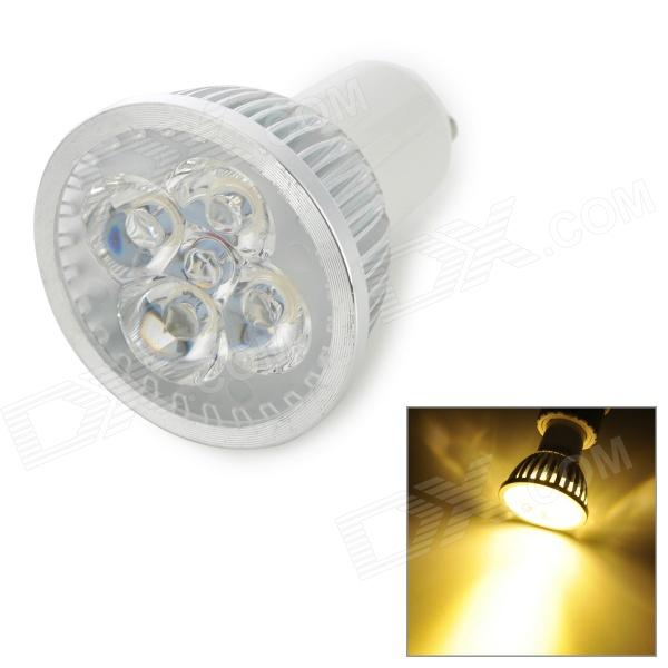 GU10 4W 350lm 3200K 4-LED Warm White Light Bulb - White (AC 110V)