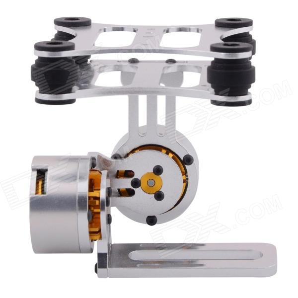 High-quality CNC Metal 2-Axis Brushless Camera Gimbal for FPVOther Accessories for R/C Toys<br>Form  ColorSilverBrand=Model2 axisMaterialCNC metalQuantity1 DX.PCM.Model.AttributeModel.UnitCompatible ModelGopro 1/2/3Packing List1 x Set of brushless gimbal (non-assembled)<br>