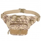 SW3068 Outdoor Sports Multifunction 600D Oxford Waist Bag - Digital Camouflage (0.5L)