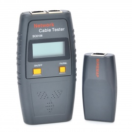 SC6106-15-LCD-Network-Cable-Tester-Ash-Black-(4-x-AAA)