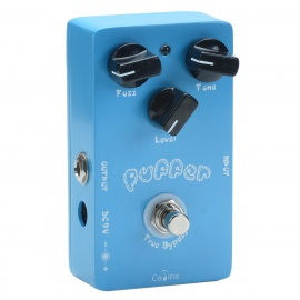 Caline-CP-11-FUZZ-Effect-Pedal-for-Electric-Guitar-Blue-2b-Black