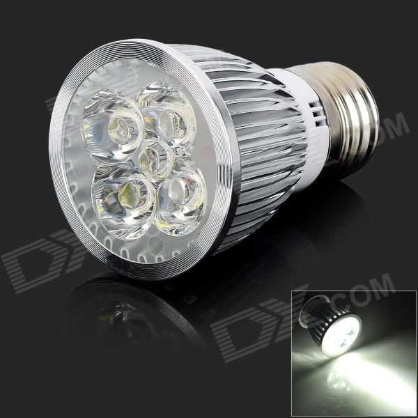 E27 5W 550lm 5-LED Cold White Light Spotlight (AC 85~265V)