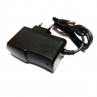 LJY-186 AC Power Charger Adapter - Black (AC 100~240V / DC 5V 1A / EU Plug / 5.5 x 2.1mm)